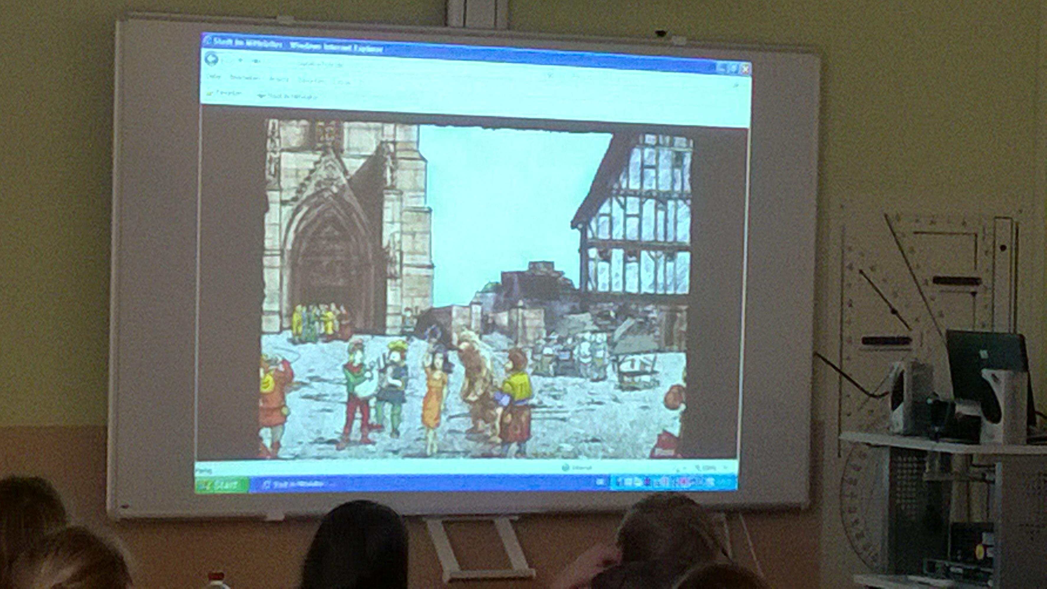 Was uns interessiert_ Die Stadt im Mittelalter ...  Was uns interes...