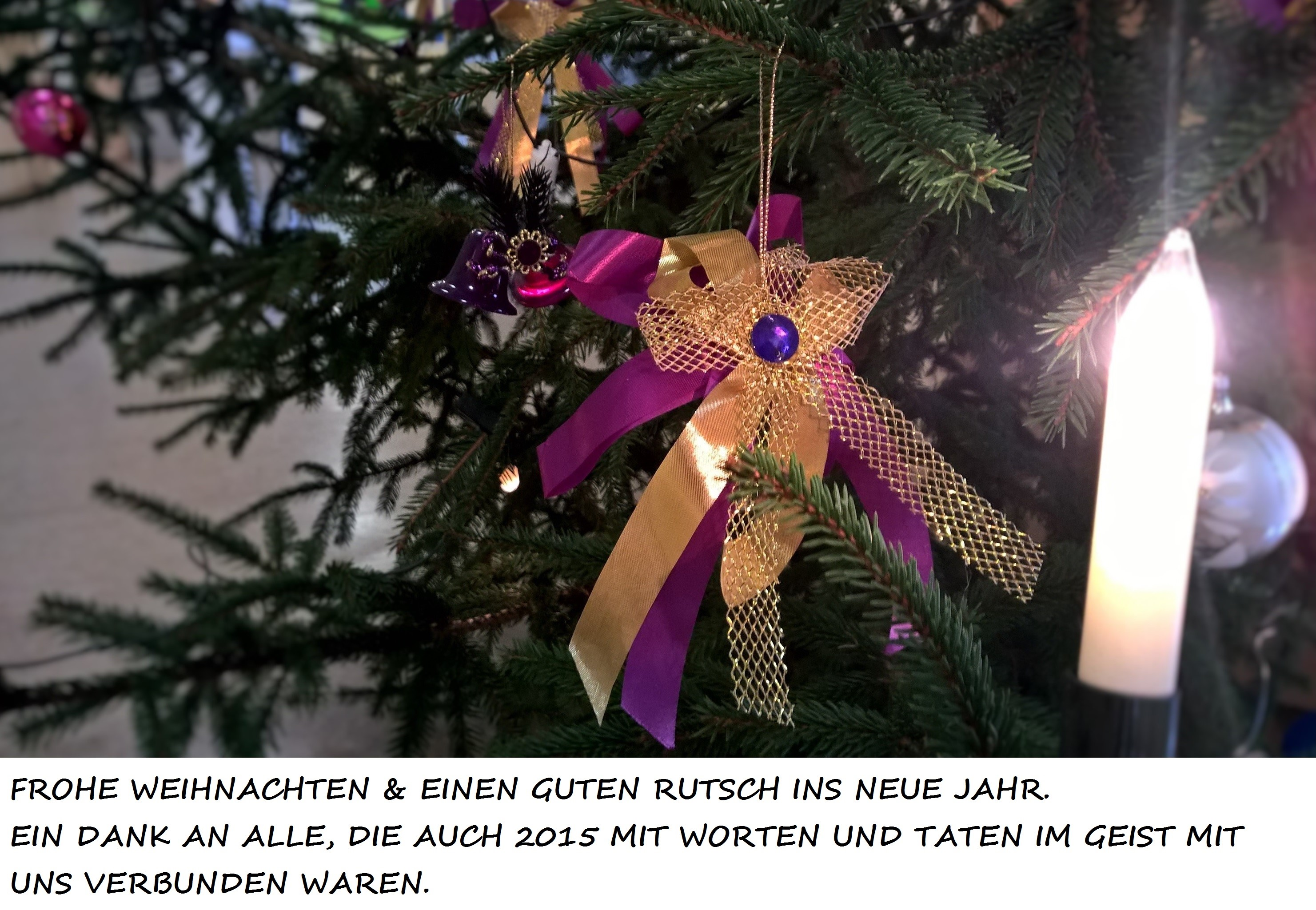 FROHE WEIHNACHTEN UND EINEN GUTEN RUTSCH INS NEUE JAHR | Oberschule ...